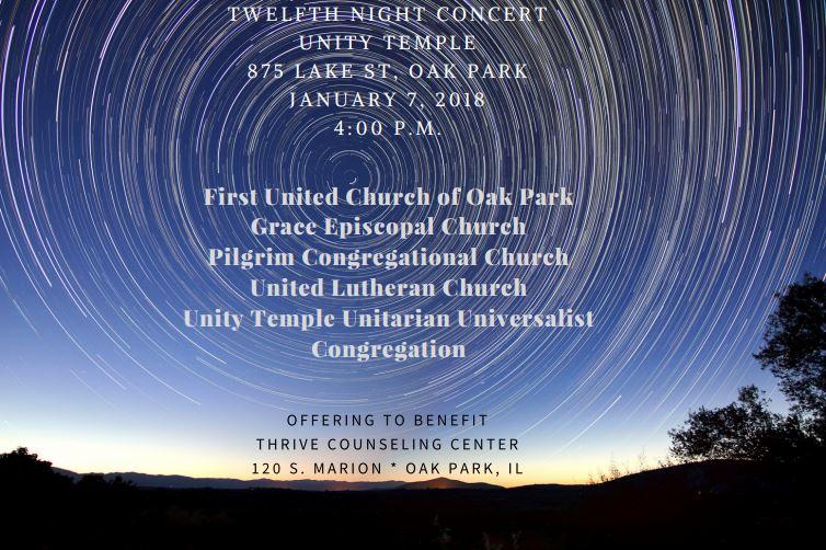Twelfth Night Concert Poster